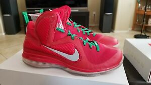 huge discount 25c71 3c764 Image is loading NIKE-LEBRON-9-CHRISTMAS-469764-602-SZ-12-