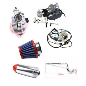 Details about 4 UP Manual LIFAN 125CC Motor Engine Kit for XR50 CRF50 70  Pit Bike 4 Speed Dirt