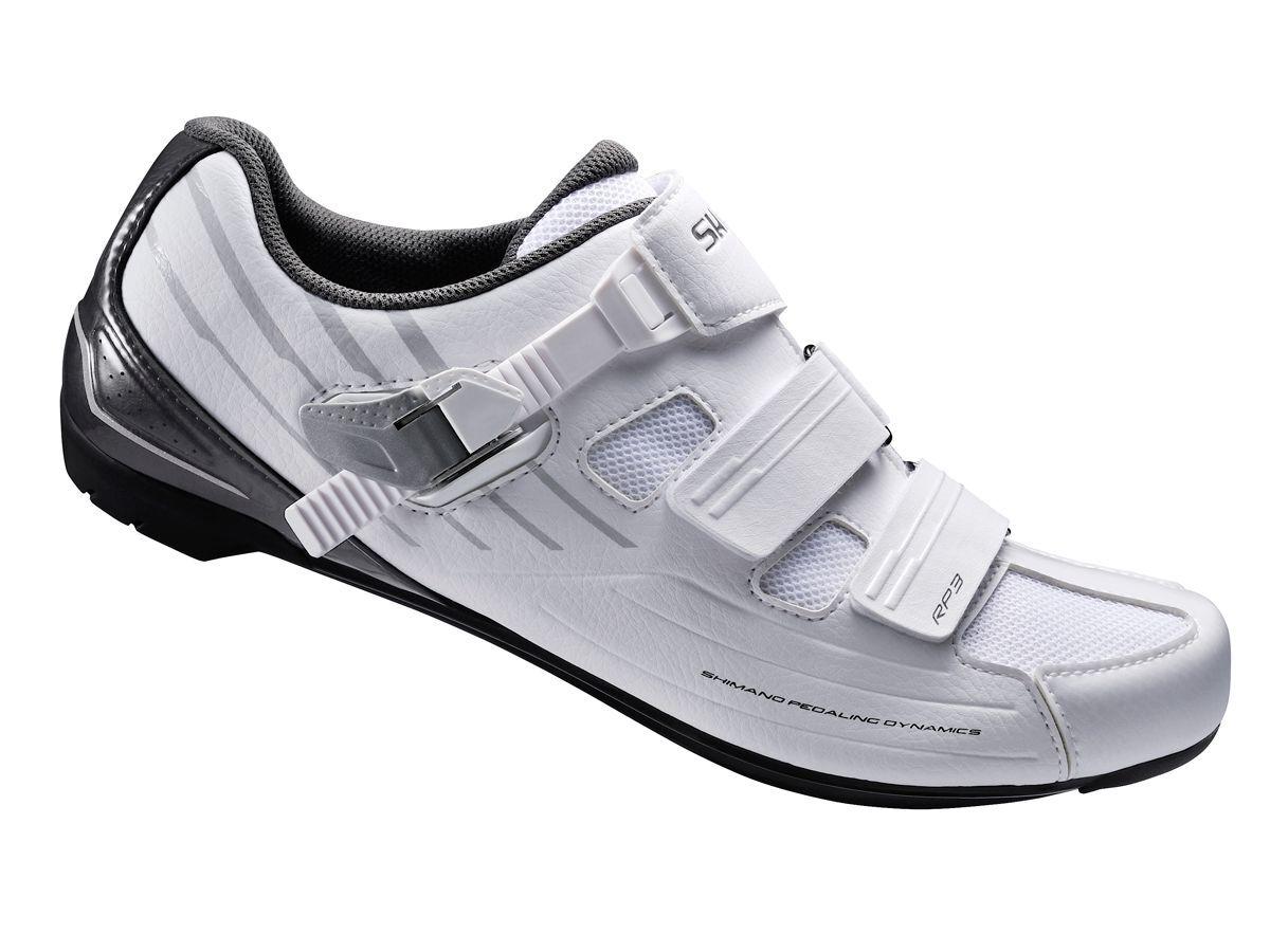 Shimano SHRP3W Wouomo Road Bike Cycling scarpe bianca  40 US 7.8 RP3