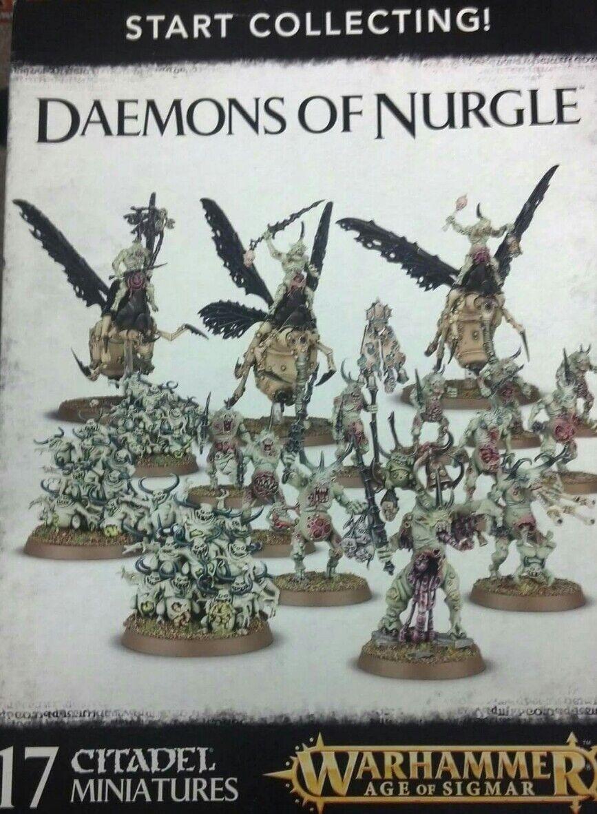 Warhammer Warhammer Warhammer Age of Sigmar START COLLECTING DAEMONS OF NURGLE 7e87cc