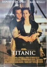 TITANIC ~ EMBRACE 23x35 MOVIE POSTER Leonardo DiCaprio Kate Winslet NEW/ROLLED!