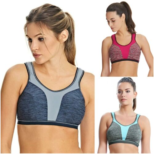 Freya Active Force Sports Bra 4000 High Impact Non-Wired Womens Gym Bras