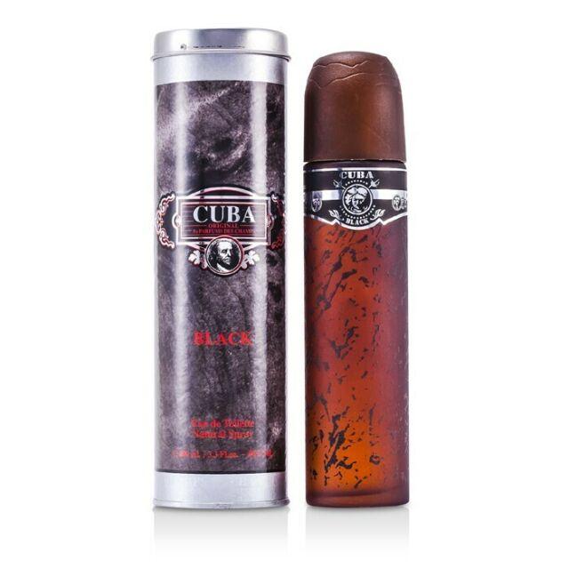 Cuba Black Eau De Toilette Spray 100ml Mens Cologne