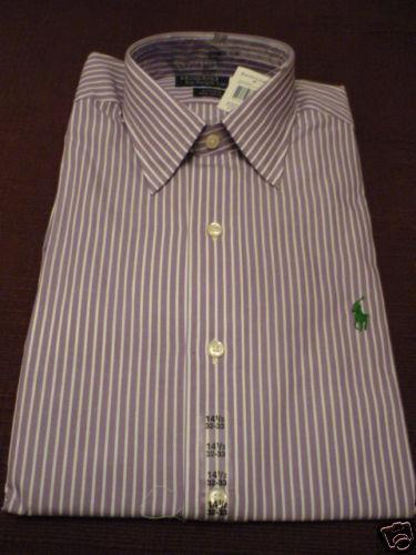 RALPH LAUREN mens dress shirt  Andrew 14.5  32  33 NWT