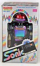 VERY RARE VINTAGE 80'S SONIC ROBOT HO KAI TOYS HK-337 RADIO CONTROLLED!!!