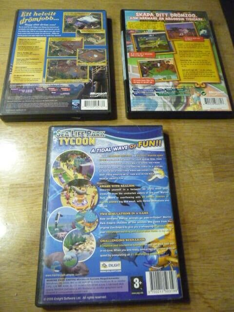 Zoo tycoon - Sea life park - Zoo tycoon 2, til pc, anden genre