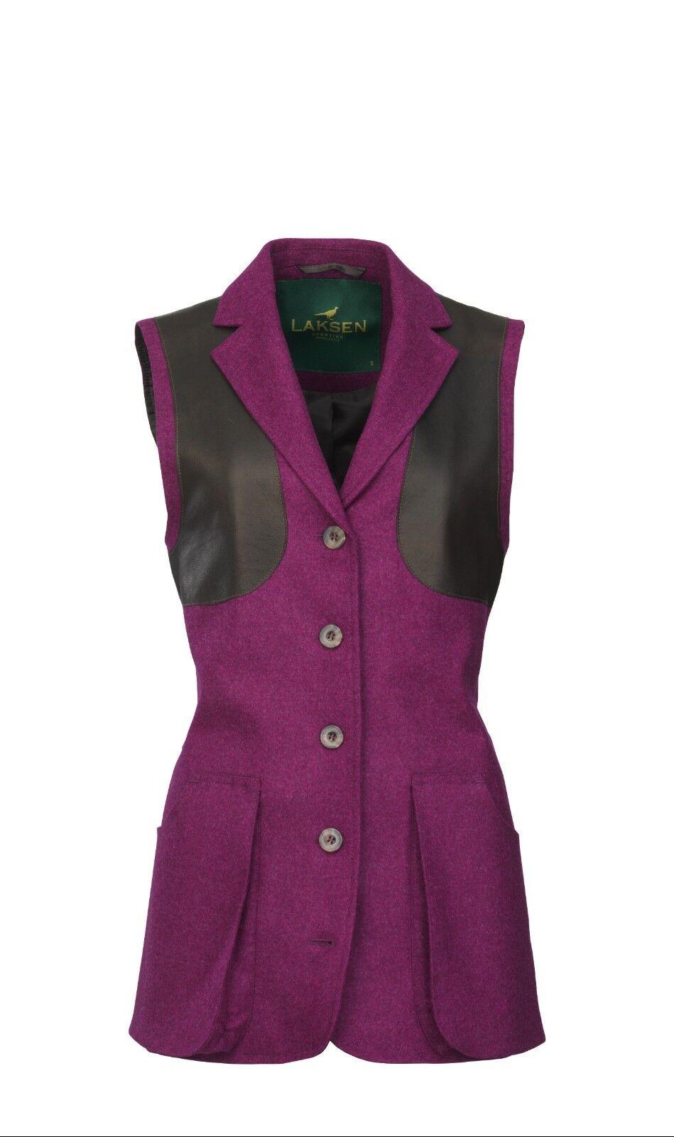 Laksen Ladies Normandy Tailor Shooting Vest REDUCED