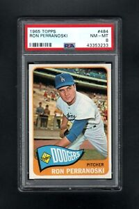 1965-TOPPS-484-RON-PERRANOSKI-LOS-ANGELES-DODGERS-PSA-8-NM-MT-CENTERED