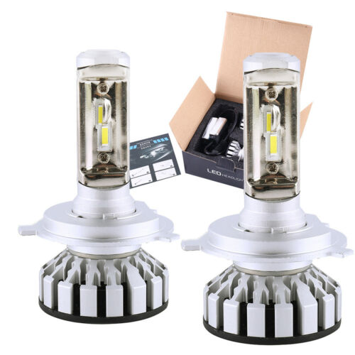 WILLKEY R8 16000LM H4 HB2 9003 LED Headlight Bulbs Kit CSP Chips White LUMILEDS