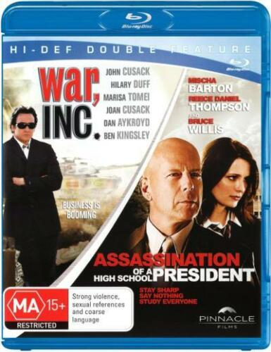 1 of 1 - Assassination of a High School President / War, Inc (2 Discs) (Blu-ray Double)