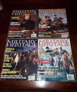 Details about Military Heritage Magazine lot of 4 Issues War Army Navy  Militia Napoleon Themed