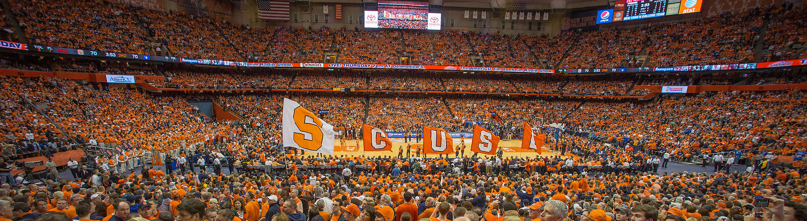 Boston College Eagles at Syracuse Orange Basketball