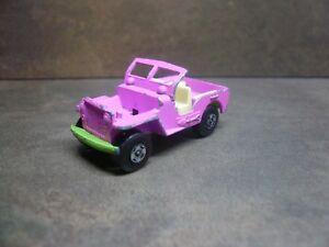 Matchbox-Superfast-Jeep-Hot-Rod-No-2-rosa-e-verde