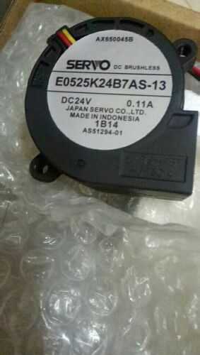 ORIGIANL servo E0525K24B7AS-13 DC24V 0.11A 3  months warranty good quality