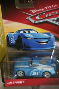 DISNEY-PIXAR-CARS-3-034-CAM-SPINNER-A-K-A-TRIPLE-DENT-034-NEW-IN-PACKAGE-SHIP-WW