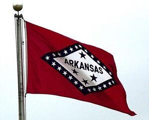 NEW 3x5 ft ARKANSAS STATE FLAG better quality usa seller