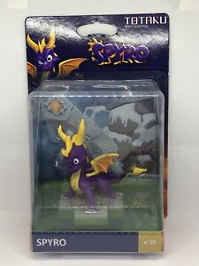 First Edition Action Figure Spyro The Dragon Totaku #33
