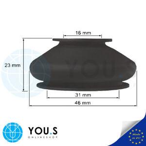 4 Pièces Rotule De Direction Soufflet Anti-poussière Manchon En Caoutchouc - 16