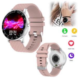 Frauen Mädchen Bluetooth Smart Watch Sport Fitness Tracker Herzfrequenzmesser