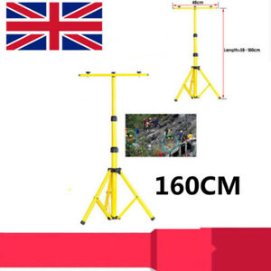 Adjustable Tripod Stand for Flood Light Camp Work Outdoor Emergency Lamp Stand