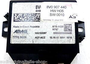 ortung-FURTO-AUDI-A3-S3-8V-CENTRALINA-fahrzeugortung-rilevamento-8v0907440