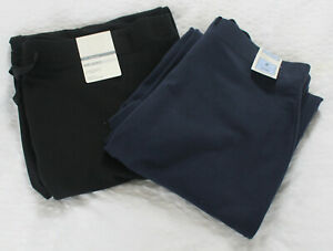 M-amp-S-Sizes-8-10-18-22-Joggers-Jogging-Pants-with-Stretch-Navy-amp-Black