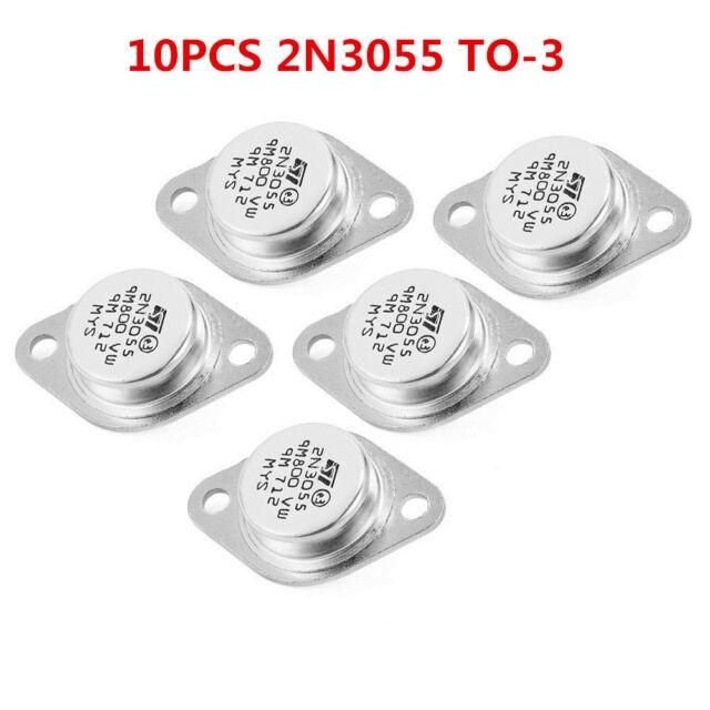 5x 2N3055 NPN AF Amp Audio Power Transistor 15A 100V J/&FLA