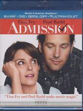New Admission Blu-ray DVD, 2013, 2-Disc Set, Includes Digital Copy UltraViolet