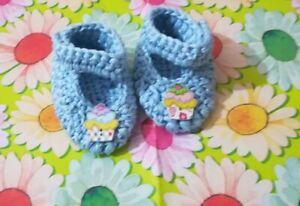 Scarpette Neonato Stivaletti Lana Uncinetto Neonato Crochet