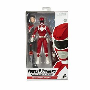 Power-Rangers-Lightning-Collection-Mighty-Morphin-Red-Ranger-Figure-NIB-Sealed