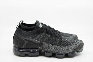 3d6ab7efbc367 Nike Air Vapormax Flyknit 2 Black Dark Grey Size 9.5 942842-012   eBay