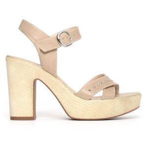 Beige Giardini Art Scarpa Sandalo Nero Donna P805680d Col R0S70q