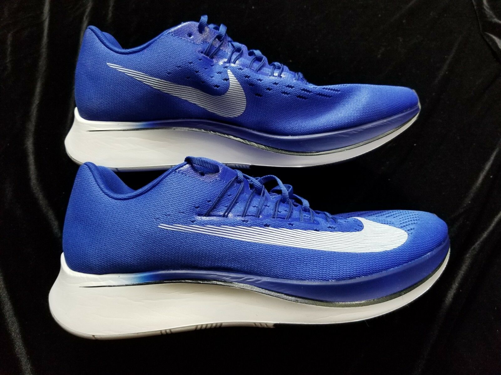 +New  MENS  NIKE  ZOOM FLY   blueE WHITE  SZ 12