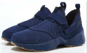 41819e4e37ad92 NIKE JORDAN TRUNNER LX BASKETBALL SNEAKERS MEN SHOES NAVY  97992-401 ...
