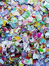 Kawaii Sticker flake 100 Lot Sack san-x Kamio Mind Wave Q-lia Crux + BONUS LOOK