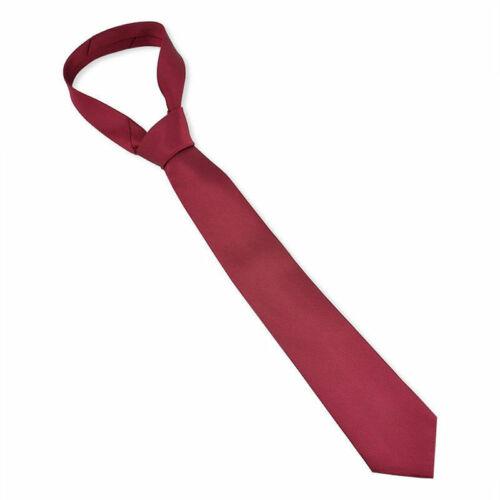 Fashion Classic Solid Color Plain Tie Jacquard Woven Men/'s Suits Ties Necktie