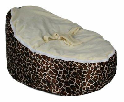 Tremendous Baby Bean Bag Chair Nursery Bed Bassinet Crib Newborn Infant Acid Reflux Giraffe 712038565092 Ebay Machost Co Dining Chair Design Ideas Machostcouk