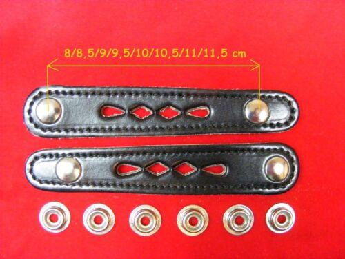 2 Stück für Balgzughalter Länge 11 cm Balgriemen//accordion bellows straps.!