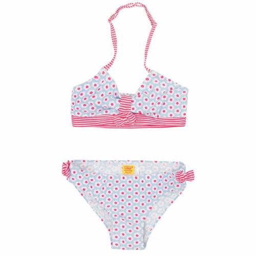 pink-hellblau 92 bis Gr.122,Blümchen Steiff Bikini NEU GR Schleife