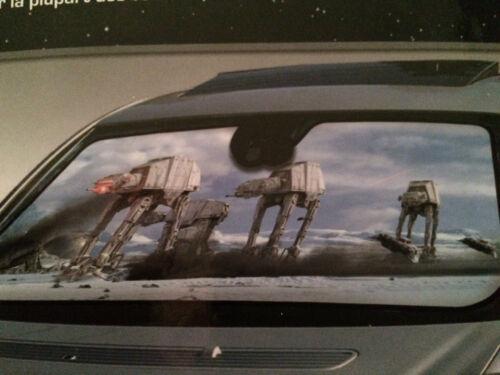Star wars Empire strikes back  Battle of Hoth  AT AT car  sunshade