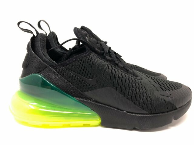 NEW MEN'S NIKE AIR MAX 270 Black Volt size 8.5 (AH8050 011)
