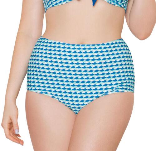 Curvy Kate Da Donna Bikini Top O Bikini Slip Blu Arancione Da Donna