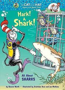 Hark-A-Shark-All-About-Sharks-Cat-in-the-Hat-039-s-Learning-Library-Hardcover