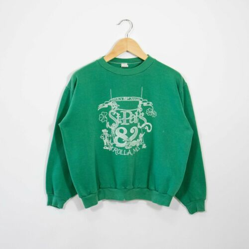 Vintage Crewneck 80s L Russell Athletic Boxy Faded