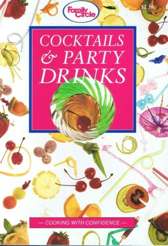 1 of 1 - COCKTAILS & PARTY DRINKS - A Family Circle Mini-Cookbook