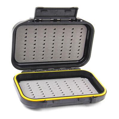 Köder Aufbewahrungsbox Koffer Wasserdicht Tragbar Fliegenfischen Köder Forelle