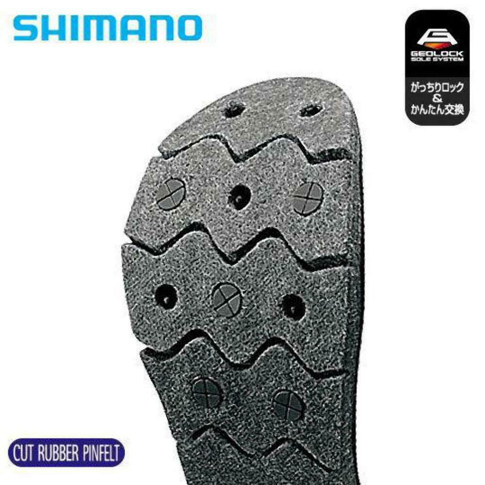 Shiuomoo Replacable Rubber Felt Spike Geolock System Sole KT035H