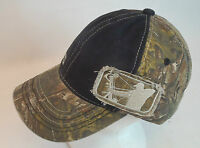 Major League Bowhunter Realtree Xtra Camo & Blk Cap/hat W/ Frayed Patch Mlbh-005