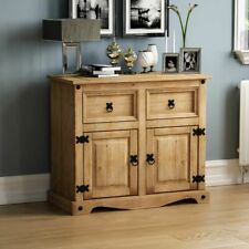 Corona 2 Door 2 Drawer Sideboard Solid Pine Mexican Cupboard By Home Discount