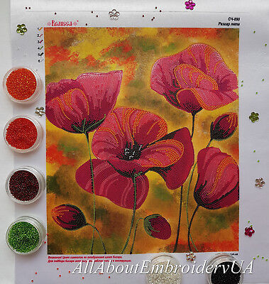 Floral//Flower//Nature Plants In Aluminum Needlepoint Kit or Canvas
